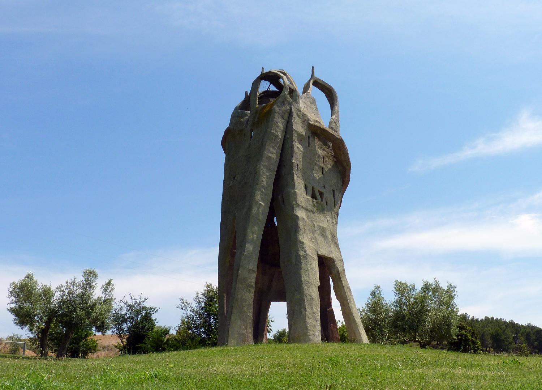 """""""Acribillados en la Santa Cruzada"""".- Escultura"""